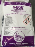 Na2B4O7.5H2O – Borax