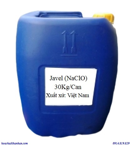 NaOCl -Natri Hypocloric 10% - Javel