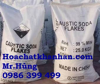 NaOH - Cautic soda Flakes 99%.