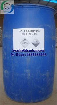 HCl - Axit Cloric 32%